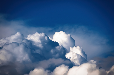 close-up abstract cloudscape sky