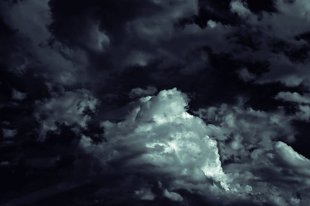 misterious: misterious nightly cloudscape