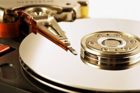 hard disk drive: Hard disk drive Stock Photo
