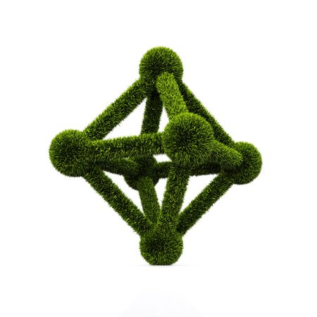 conceptual symbol of ecological atom Stock Photo
