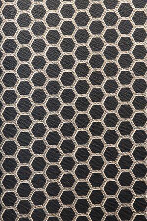Super macro photo of non-stick frying pan surface closeup. Banque d'images