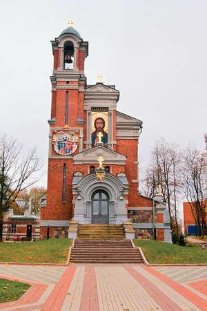 Chapel-tomb of the princes Svyatopolk-Mirski. Mir. Republic of Belarus