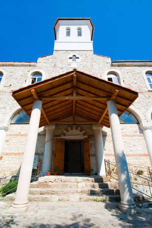 Entrance to the Church of the Holy Virgin  Nessebar  Bulgaria   photo