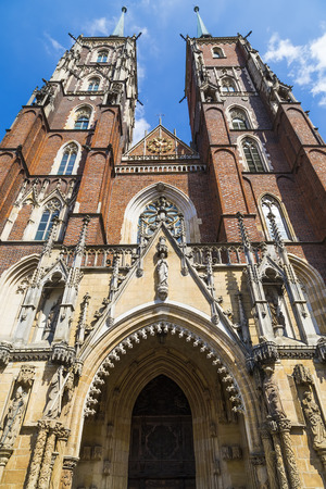 Church of St  John the Baptist  Wroclaw  Poland photo