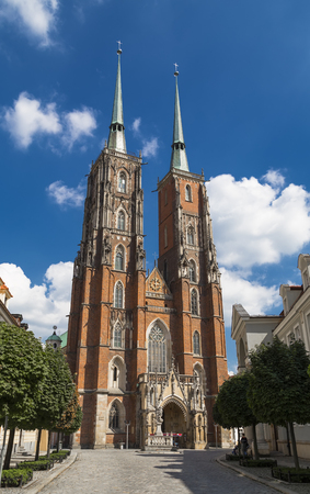 Cathedral of St  John the Baptist  Wroclaw  Poland - 2 photo
