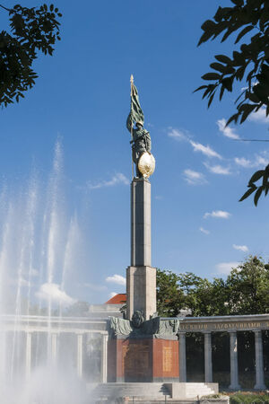 Monument to Soviet soldiers in Vienna  Austria photo
