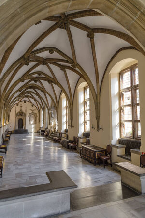 One of the rooms in the Town Hall  Wroclaw  Poland