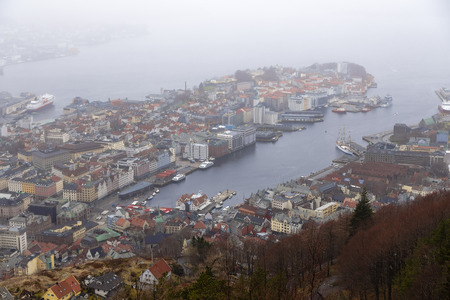whining: Forever whining and rainy city of Bergen. Norway