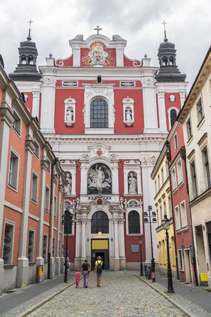 wielkopolskie: Church of Our Lady of Perpetual Help and St. Mary Magdalene. Poznan. Poland Stock Photo