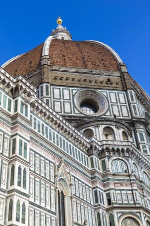 fiore: Cathedral of Santa Maria del Fiore - Florence Cathedral. Italy Stock Photo