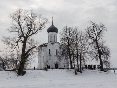 nerl: Church of the Intercession on the Nerl. Vladimir. Russia