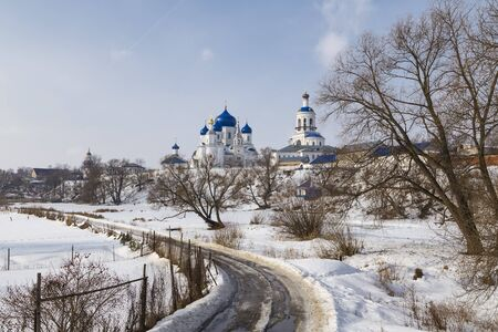 bogolyubovo: Female Orthodox monastery Nativity of the Virgin in the village of Bogolyubovo. Russia