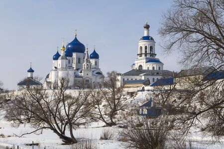 bogolyubovo: Female monastery Nativity of the Virgin in the village of Bogolyubovo. Russia Stock Photo