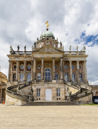 New Palace in Potsdam - Palace in late baroque style, built in 1763-1769 years on the western edge of the park Sanssouci. Germany
