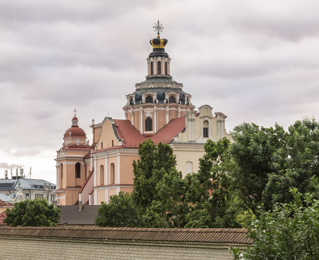 casimir: Church of St. Casimir - rektoralny Roman Catholic Church (Jesuits) in Vilnius deans office; the first example of the early Baroque in Vilno