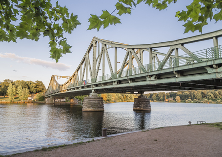 The Glienicke Bridge (German: Glienicker Brücke) is a bridge across the Havel River in Germany, connecting the Wannsee district of Berlin with the Brandenburg capital Potsdam