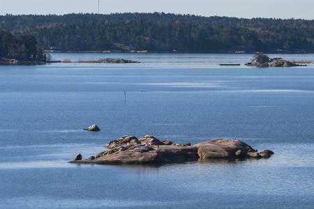 turku: Skerries in the Baltic Sea near Turku city. Finland