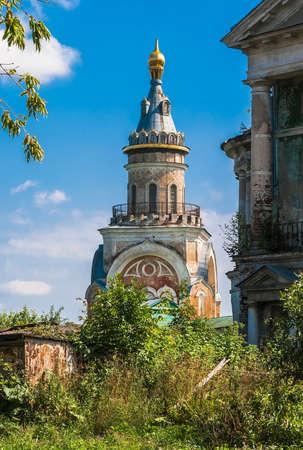 boris: One of the towers of Boris and Gleb Monastery. Torzhok. Russia