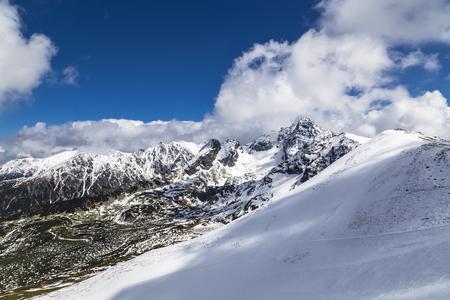 Ridge in the Tatra Mountains in Poland near the town of Zakopane Stock Photo