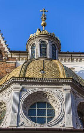 Chapel of King Sigismund I - Wawel Cathedral. Krakow. Poland