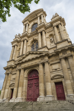 saints: Church of Saints Gervasius and Protasius also known as Saint-Gervais. Paris. France