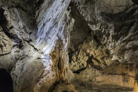 Gallery Belianska Cave - stalactite cave in the eastern part of the Belianske Tatras in Slovakia