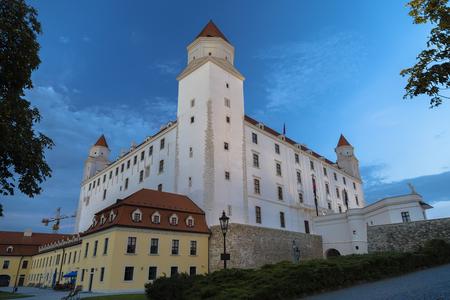Bratislava Castle  is the main castle of Bratislava, the capital of Slovakia. Editorial