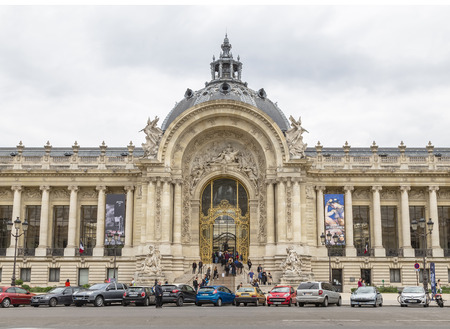 PARIS, FRANCE - MAY 15, 2016: The Petit Palais (small palace) is an art museum in the 8th arrondissement of Paris, France