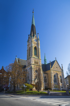 The Oscar Church in Stockholm is named after the King of Sweden and Norway Oscar II
