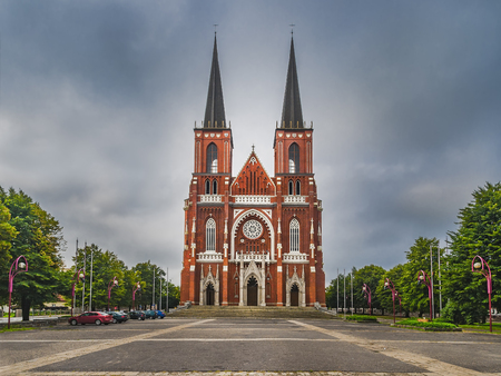Cathedral Basilica of the Holy Family also called Czestochowa Cathedral. Poland