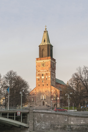 Turku Cathedral is the most valuable architectural monument in Finland. Built in 13th century, consecrated in 1300 in honor of the Virgin Mary and the first bishop of the country of St. Henry