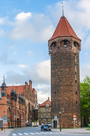The tower of Jacek is part of the medieval fortifications of the city, it was built around 1400. One of the highest medieval towers in Gdańsk, is located on Panská Street.