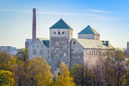 Turku Castle, Abo Castle is a Swedish castle in the city of Turku, which acquired a close-to-modern look during the reign of Gustav Vasa Stock fotó - 116970151