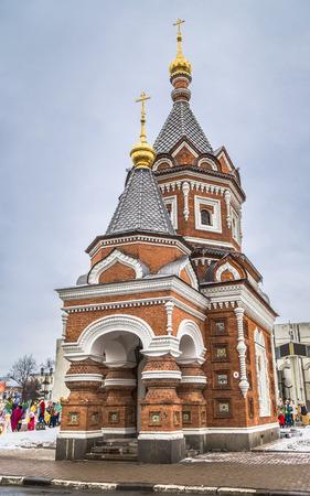 The Alexander Nevsky Chapel was built in Yaroslavl in 1892. architect Pozdeev N.I.