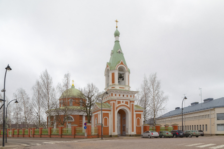Finland, Hamina - Church of the Holy Apostles Peter and Paul