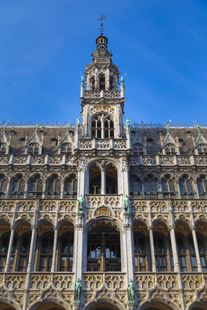 Brussels, Belgium - Kings House (Maison du Roi) - a Gothic building at the Grand Place of Brussels