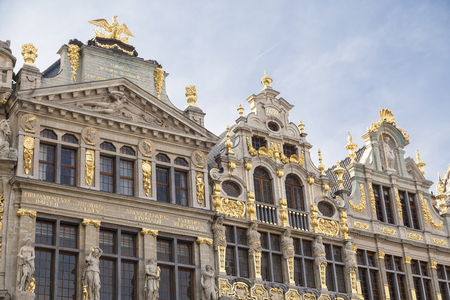 Brussels, Belgium - Guild Houses at the Grand Place