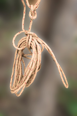 knot on rope