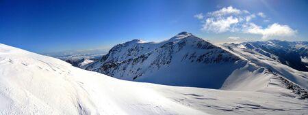 Mountain peak in Arkhyz  Caucasus, Russia     photo