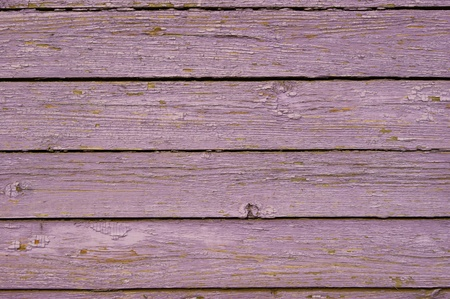 Old purple wooden fence   photo