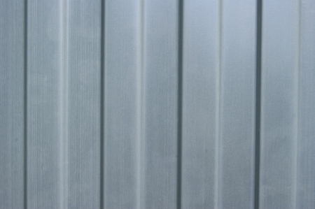 Corrugated metal fence  Stock Photo - 14552728