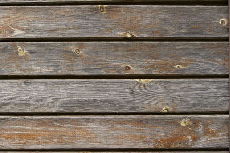 Wooden fence with divorce photo