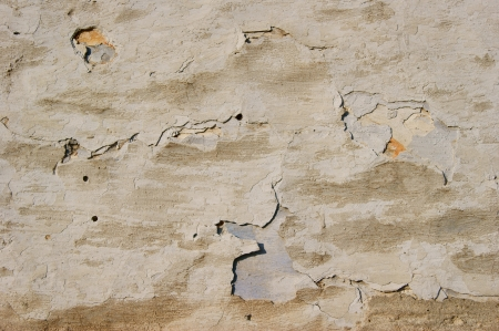 Abstraction  cracks and spots on the plastered wall Stock Photo - 19470347