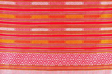 handwork: Thai folk textile south style made by handwork