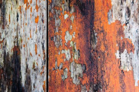 old, grunge wood panels used as background Stock Photo - 15826062
