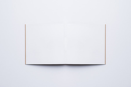 Open Blank Page notebook