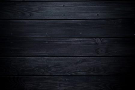 black Wood panels background