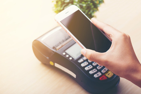 mobile payment ,online shopping concept