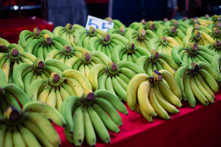 banana is sold at the market