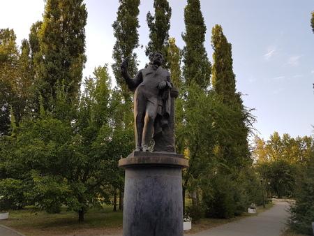 pushkin: Monument to Pushkin